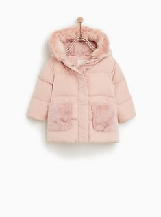 16f6ccedc4521 Image 1 of DOWN PUFFER JACKET WITH POCKETS from Zara ザラの子供たち