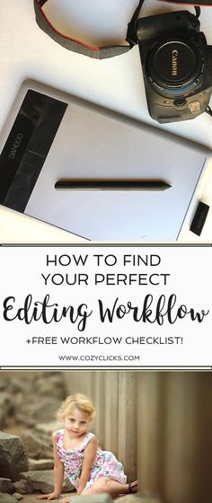 Photography tips for photographers looking to create an editing workflow.  Want to speed up your editing?  Learn how to create an editing workflow in your photography here!
