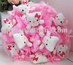 HEllo Kitty toy bouquet !
