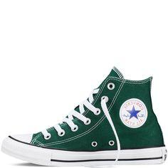 Converse - CT All Star Fresh Hi Canvas Sneakers - Gloom Green