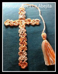 Cruces acrochet, para Biblias etc.