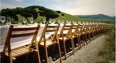 There is just something so evocative about one long table...