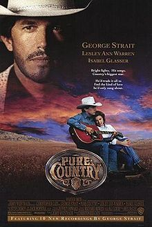 Pure Country is a 1992 American dramatic musical western film directed by Christopher Cain. The film stars George Strait in his acting debut with Lesley Ann Warren, Isabel Glasser and Kyle Chandler. The film was considered a box office bomb, however the soundtrack was a critical success and to date Strait's best selling album.