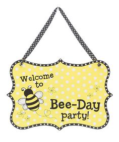 """BUMBLE BEE Melamine Pot container 4 1//2/""""H X 5/""""Opening HAPPY BEE DAY"""