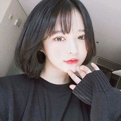 ♡ ; @ethereal on Pinterest Ulzzang Short Hair
