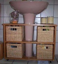 blog Vera Moraes - Decoração - Adesivos Azulejos - Papelaria Personalizada - Templates para Blogs: Para pequenos banheiros grandes soluções
