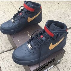 Gucci Air Force Ones