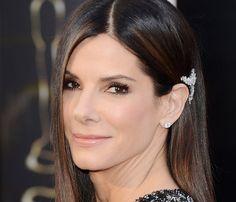 El Maquillaje de Los Oscars 2013.    Sandra Bullock