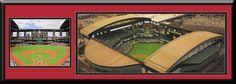 Arizona Diamondbacks Chase Aerial View Large Stadium Poster-Framed-Choose Option
