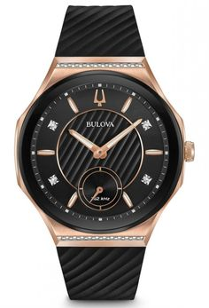 Shop a great selection of Bulova Ladies Diamond Stainless Steel High Performance Curv Collection Watch. Find new offer and Similar products for Bulova Ladies Diamond Stainless Steel High Performance Curv Collection Watch. Elegant Watches, Casual Watches, Brand Name Watches, Bulova Watches, Watch Model, Luxury Watches For Men, Black Rubber, Watches Online, Diamond
