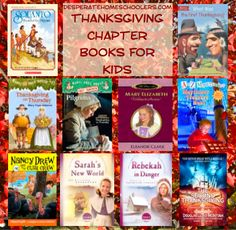 Thanksgiving Book List: Chapter Books