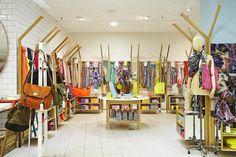 Tendeter Ltd | London | Retail Interior | Heal's Scarf Department