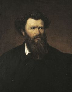 Madarász, Viktor   Miklós Izsó    C. 1873   Oil , Canvas  78,5 x 62 cm   Inv.: 7497