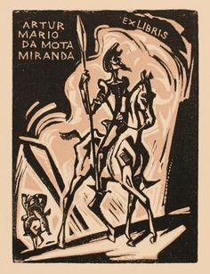 Bookplate (or ex libris) by Emil Kotrba.