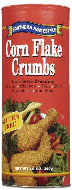 Southern Homestyle Corn Flake Crumbs, 12 oz * You can get additional details at the image link.