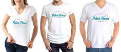 The Beach House Grand-Bay Mauritius Tee-Shirt Uniform #Collateral #o8 #Origin8Concepts #Branding