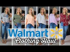 cbfb0da796bd WALMART *SPRING* TRY ON CLOTHING HAUL | CUTE CHEAP CLOTHES - YouTube  Affordable Clothes