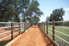 A metal fence is more durable than a wooden fence, and nothing dresses up a home, farm or ranch better than a beautiful fully functional fence. Description from okfrs.com. I searched for this on bing.com/images Front Yard Fence, Fence Gate, Fenced In Yard, Rail Fence, Pasture Fencing, Horse Fencing, Horse Paddock, Horse Barns, Horse Stables