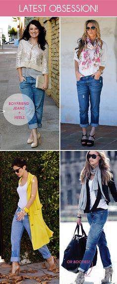 Boyfriend jeans :-)