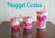 Nugget Cozies Free Crochet Pattern