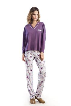 Brighten your day and night with a splash of color in this special Vamp pyjama.  http://www.vampfashion.com/collections-mo-en/nightwear-mo-en.html #vampfashion #pyjama