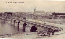 41 56 BLOIS Le Pont sur La Loire
