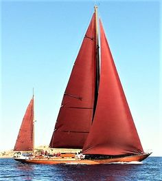 Red Sails, like something from an ancient dream.