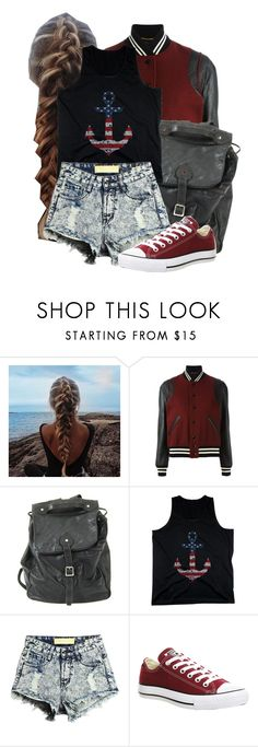 """""""Fourth of July"""" by unicorncheesecake ❤ liked on Polyvore featuring Yves Saint Laurent, Handle and Converse"""