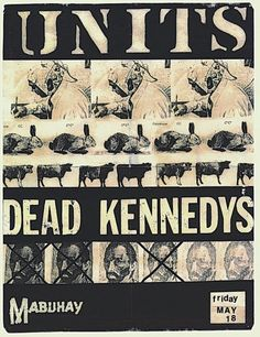 Units, Dead Kennedys @ Mabuhay Gardens. 1979