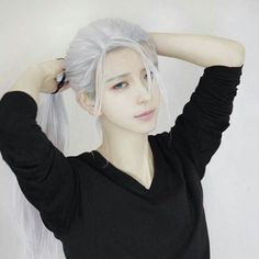 Cosplay Viktor Nikiforov from Yuri On Ice Cosplay Lindo, Cosplay Anime, Epic Cosplay, Male Cosplay, Cosplay Makeup, Amazing Cosplay, Cosplay Outfits, Cosplay Costumes, Yuri On Ice