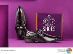 Dapper double monk strap shoes are a perfect wear to get you from work to weekend in all style.