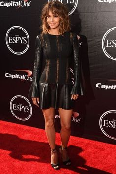 Halle Berry stepped out at the ESPY Awards in a pair of standout Brian Atwood heels called Melly.
