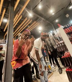 Ckay and Davido were at Palms shopping Mall, Lekki, guess what they were during?