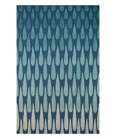 Take a look at this Momeni Rugs Blue Pinnacle Textured Wool Rug today!