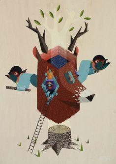 Oh Deer! | Illustrator: Q B R K of L O W B R O S