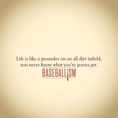This is when our youth group plays baseball. Rock-strewn, all-dirt infield wrecks havoc on the ball. Baseball Bases, Braves Baseball, Baseball Party, Baseball Sister, Baseball Display, Baseball Stuff, Baseball Season, Baseball Shirts, Baseball Quotes