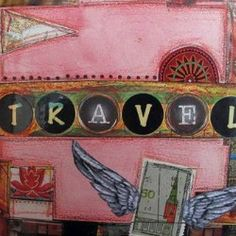 Tute Tuesday: Creating a Travel Journal -Craftster blog