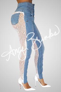 Sinister Jeans Sheep | Shop Angel Brinks on Angel Brinks
