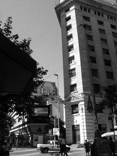 Ahumada con Moneda. Santiago Centro.