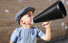 Megáfono en la expresión oral / las mejores noticias son las q se comparten