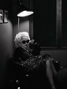 Jessica Lange in Scorsese's Women for W, September 2014 Shot by Steven Klein Styled by Panos Yiapanis