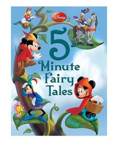 Love this Disney Five-Minute Fairy Tales Hardcover by Disney on #zulily! #zulilyfinds
