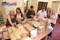 During a recent all-staff meeting, we joined @opgratitude to help make care kits to offer gratitude to those who have served our country. We were truly honored to help!