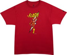 Welcome to the first Teesd.com episodic blog… The Big Bang Theory Featured Tee! Our first featured t-shirt should come as no surprise.  This retro style Flash t-shirt has made many appearances on the back of Sheldon Cooper over the years, but The Flash character also plays as a reoccurring theme over the life of the show as he happens to be all four of the main characters favorite comic book hero. So who better to make the focus of our inaugural blog post? Grab yours and get your geek on!