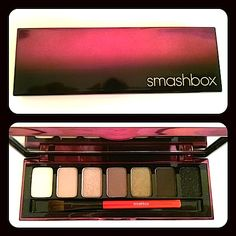 Makeup Review, Before/After Photos, Swatches: Smashbox Fade To Black Fall 2013 Collection: Photo Op Eye Palette, Waterproof Shadow Liner, Be Legendary Lipstick