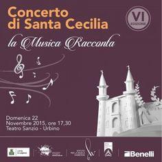 Urbino il 22 dicembre cè il concerto di Santa Cecilia