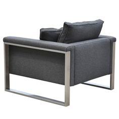 sohoConcept Boston Arm Chair | AllModern in black $979