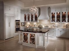 White glass cabinet doors white glass cabinet doors image of glass kitchen cabinets inspiration white kitchen Off White Kitchen Cabinets, Off White Kitchens, White Farmhouse Kitchens, Farmhouse Kitchen Cabinets, Elegant Kitchens, Kitchen Cabinet Doors, Kitchen Cabinet Design, Home Kitchens, White Cabinets