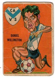 figurita tarjeton futbol sport 1967 Daniel Willington - Velez Sarsfield  #86