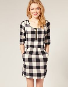 Discover the latest fashion and trends in menswear and womenswear at ASOS. Shop this season's collection of clothes, accessories, beauty and more. Free Clothes, Clothes For Women, Check Dress, Vogue Fashion, College Outfits, New Wardrobe, Dress Codes, Latest Fashion Clothes, Online Shopping Clothes